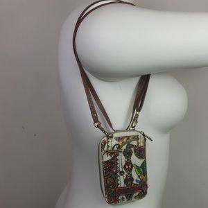Sakroots crossbody small purse/ wallet.